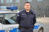 Wywiad z policjantem. Funkcjonariusz z Gubina pomaga innym - robi to na lądzie i... wodzie. Rozmowa z sierż. szt. Dawidem Wiewiórowskim