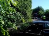 Wypadek w Lisewie (gmina Krokowa): kierująca cudem wyszła z dachowania auta bez poważnych obrażeń | NADMORSKA KRONIKA POLICYJNA