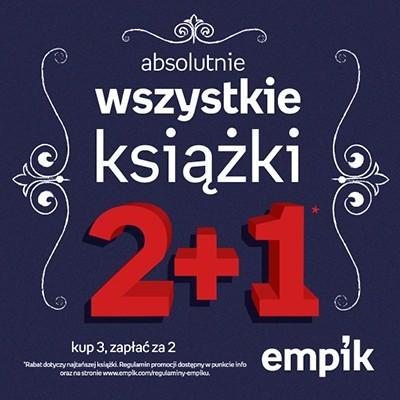 W salonach Empik 3 książki w cenie 2 do końca września !