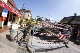 Sopot: Prace na zapleczu ul. Bohaterów Monte Cassino. Budowa kanału i utrudnienia komunikacyjne