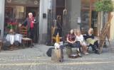 Koncert Wojciecha Bardowskiego, we francuskim stylu na ulicy w Przemyślu [ZDJĘCIA]