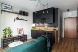 Mieszkanie studenta na warszawskim Żoliborzu. Luksusowe wykończenia i nowoczesność. Tak żyje się na 26 m2