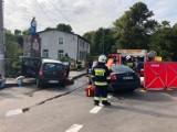 Wypadek w Sulęczynie - trzy osoby ranne. W akcji śmigłowiec LPR  ZDJĘCIA