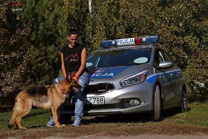 Wrzesińska policja zachęca do adopcji zwierząt ze schroniska [FOTO, FILM]