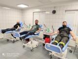 14 druhów z OSP w Bukowsku oddało krew. Akcja Krew Challenge nabiera tempa