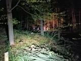 Tragiczny wypadek w lesie. Nie  żyje 54 - letni mężczyzna