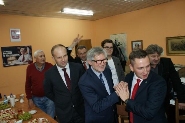 Sztab Wyborczy PiS w Koninie