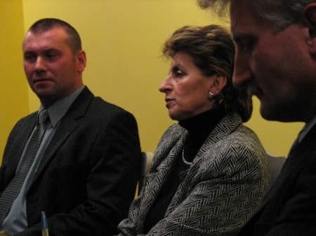 Troje kandydatów na burmistrza Czerska spotkało się na konferencji prasowej. Zabrakło wśród nich kandydata Marka Jankowskiego, obecnego burmistrza.