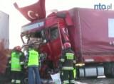 Śmiertelny wypadek w Oleśnie. Kierowca ciężarówki usłyszał zarzuty