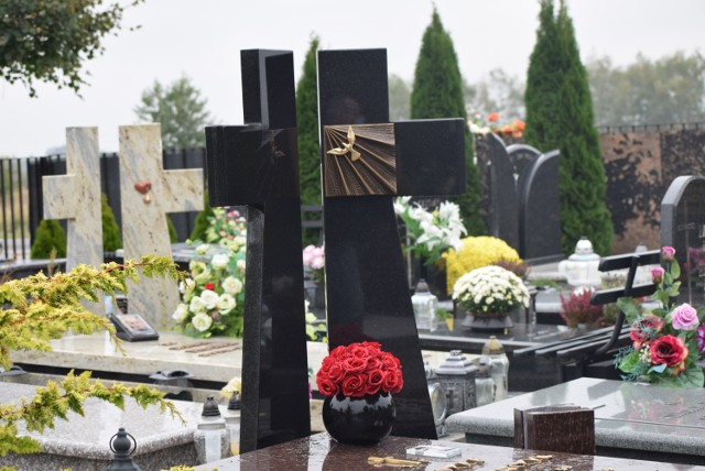 Cmentarz Komunalny w Sieradzu przed Wszystkimi Świętymi