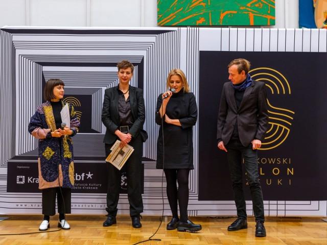 Ogłoszenie nagród Krakowskiego Salonu Sztuki
