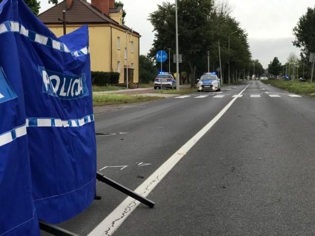 Śmiertelny wypadek na przejściu dla pieszych na Wojska Polskiego