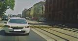 W Bydgoszczy tory wystrzeliły w górę. Jest film, na którym widać ten moment [wideo]