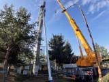 Nowy, wysoki komin w kotłowni w Szczecinku. Wysokie też będą ceny ciepła [zdjęcia]