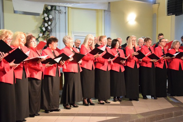 Chóralny koncert u Baptystów w Zduńskiej Woli