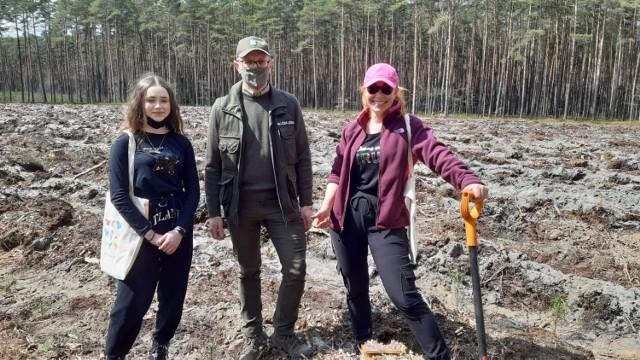 Posadzili ponad 2 tysiące drzewek w Lublińcu. Udana akcja zostanie na pewno powtórzona