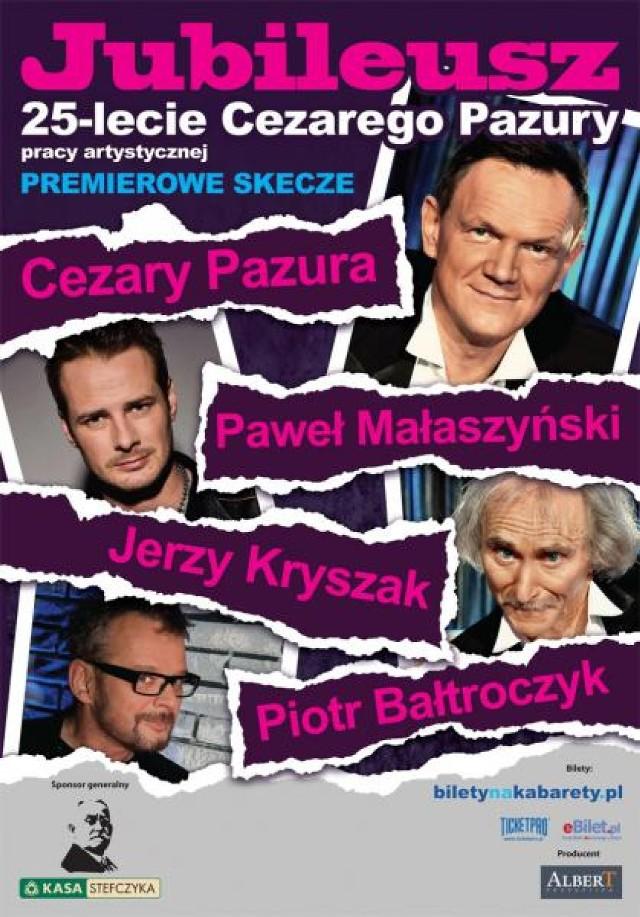 Jubileusz Cezarego Pazury w Filharmonii Pomorskiej w Bydgoszczy