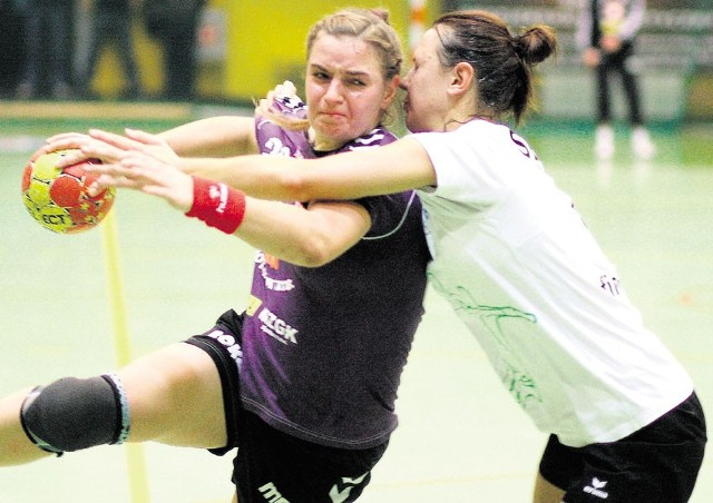 Olga Kuzniecowa (Piotrcovia) w meczu Pucharu Polski