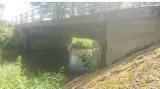 Inwestycje w gminie Suwałki. Most na Czarnej Hańczy we wsi Potasznia zamknięty