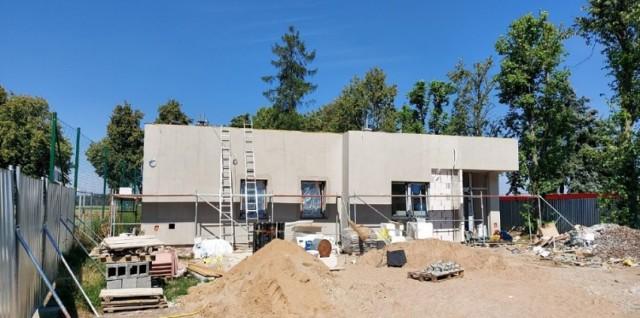 Zdjęcia z budowy (lipiec, sierpień 2020)