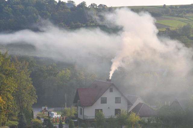 Smog spowił okolice Krakowa. Fatalnie szczególnie na północy województwa