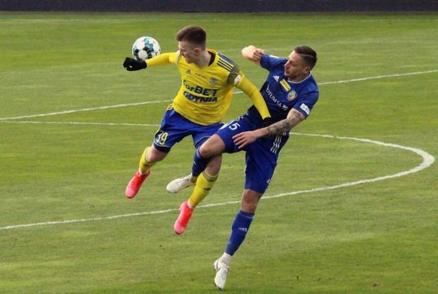 Po ostatnim zwycięstwie nad Miedzią Legnica piłkarzy Arki Gdynia czeka teraz nieplanowana przerwa w rozgrywkach.