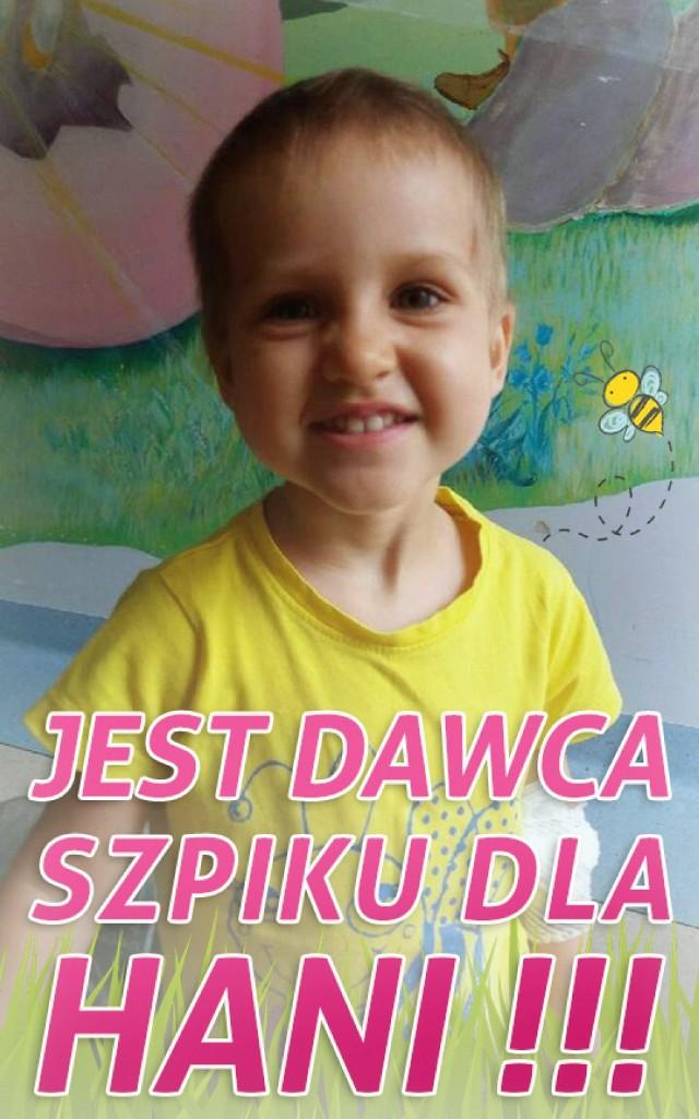 Nowy Dwór Gdański. Pozytywne wieści pojawiły się w sprawie Hani Wawrzyk, która walczy z białaczką. Dla młodej nowodworzanki, która walczy ze śmiertelną chorobą, znalazł się bliźniak genetyczny, co umożliwia wykonanie przeszczepu szpiku i powrót do zdrowia.