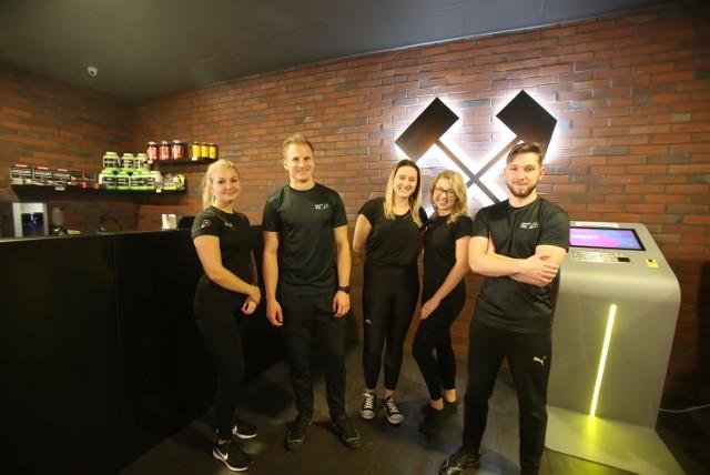 Przemiła ekipa klubu. Wnętrza Śląskiego Klubu Fitness Smart Gym w Katowicach w CH Załęże po remoncie