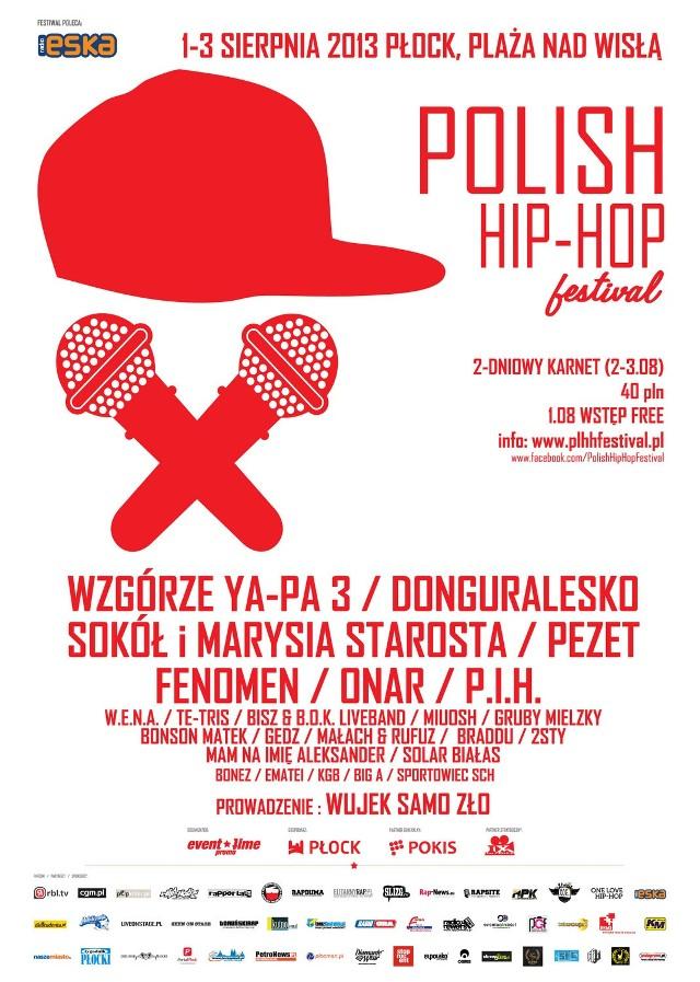 Oficjalny plakat Polish Hip-Hop Festival
