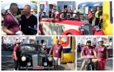 Start. VIII Rajd Samochodów Zabytkowych Śladami Zbąszyńskiego Kozła - Zbąszyń - 24 sierpnia 2019 [Fotorelacja]