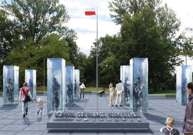 Tak będzie wyglądał pomnik Żołnierzy Wyklętych we Wrocławiu