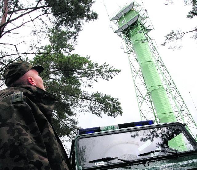 Na granicy UE-Rosja w Piaskach, woj. pomorskie.