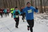 Pobiegli zBiegiemNatury wokół Rusałki: Po śniegu, ale z uśmiechem [zdjęcia]