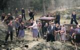 Powojenne zdjęcia mieszkańców Gubina, ale w kolorze. Czarno-białe zdjęcia z lat 1945-1960 zmieniły się w kolorowe