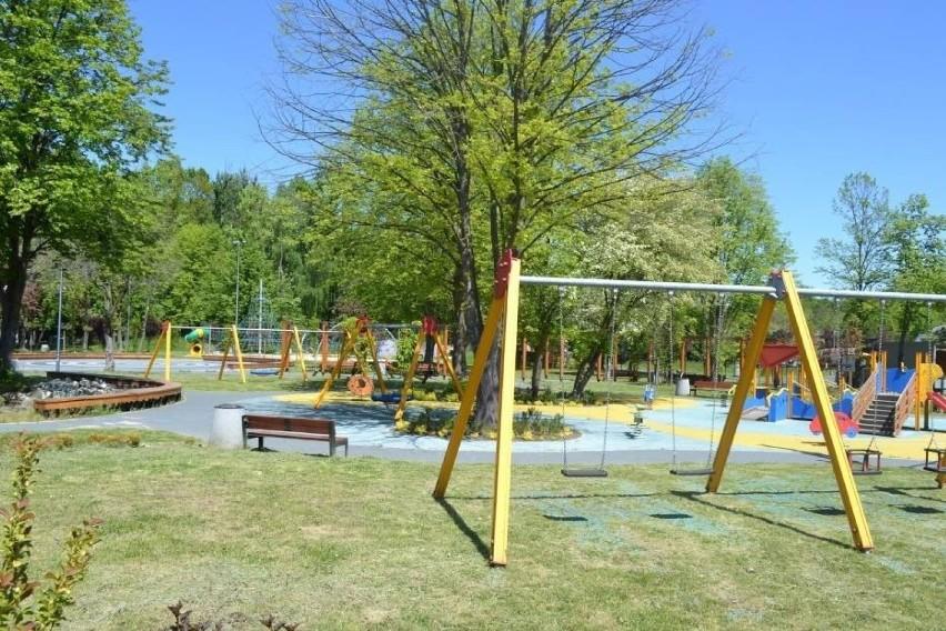 8. Ogród jordanowski w Parku im. Jacka Kuronia w Sosnowcu....