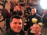 Telewizja Discovery nagrała program o codziennej pracy strażaków ochotników z Suchowoli (zdjęcia)