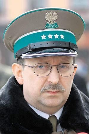 Grzegorz Klejnowski g, rzecznik komendanta Śląskiego Oddziału Straży Granicznej w Raciborzu.