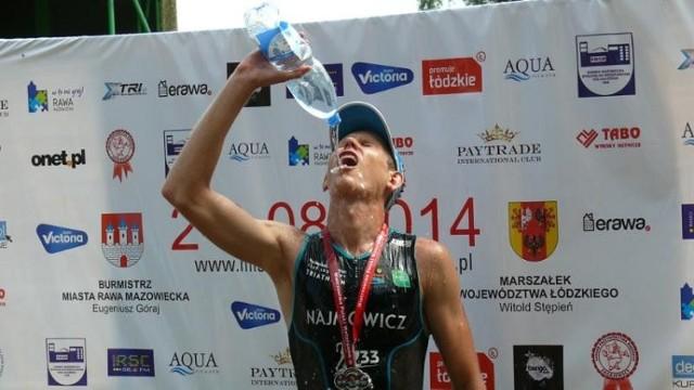 Triathlon 2014 w Rawie Mazowieckiej (niedziela)