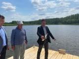 Mieszko i Dobrawa wypłynęły na koryciński zalew. Będą kolejną atrakcją dla odpoczywających nad wodą