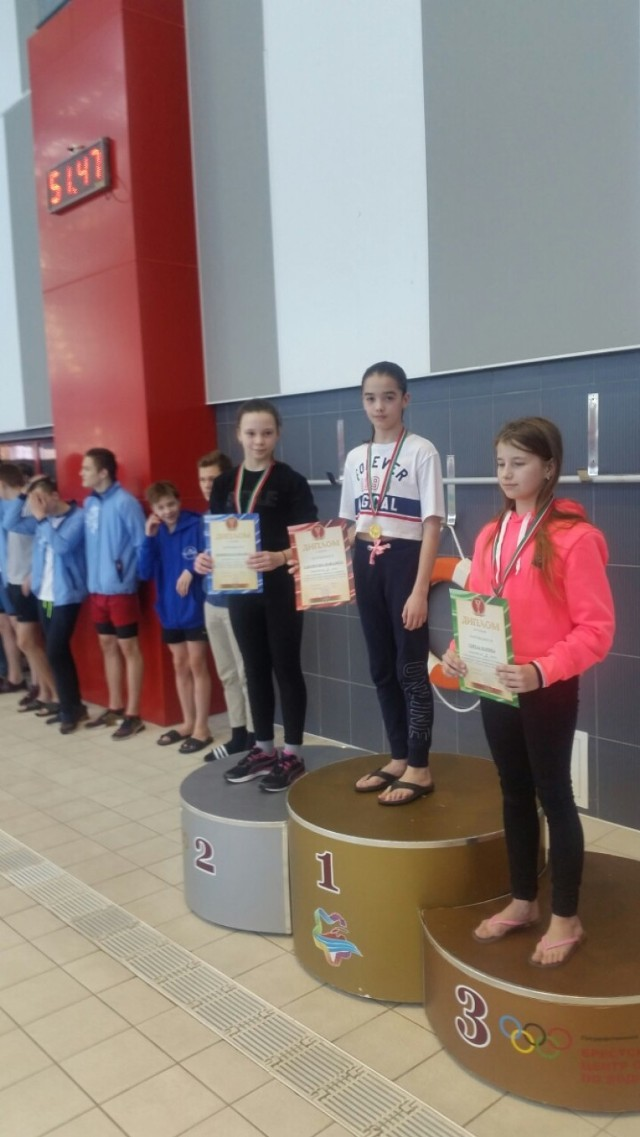 Zawody Pływackie w Brześciu z udziałem pływaków z Bielska
