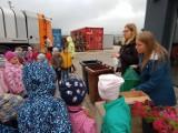 Przedszkolaki odwiedziły Punkt Segragacji Odpadów w Błotnicy