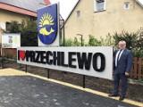 I love Przechlewo – nowy witacz w centrum miejscowości