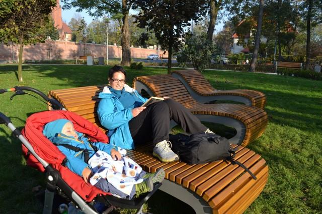 Park przy Bazylice w Rybniku