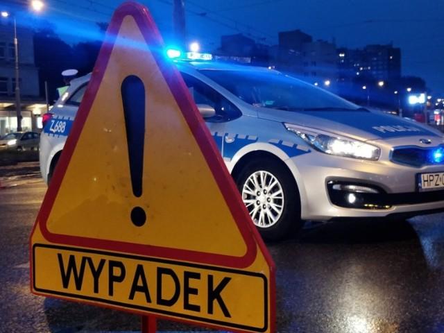 Bytom: zderzenie osobówki ze skuterem na ul. Suchogórskiej