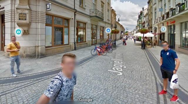 Sądeczanie, którzy zorientowali się, że rejestrują ich kamery Google Street View