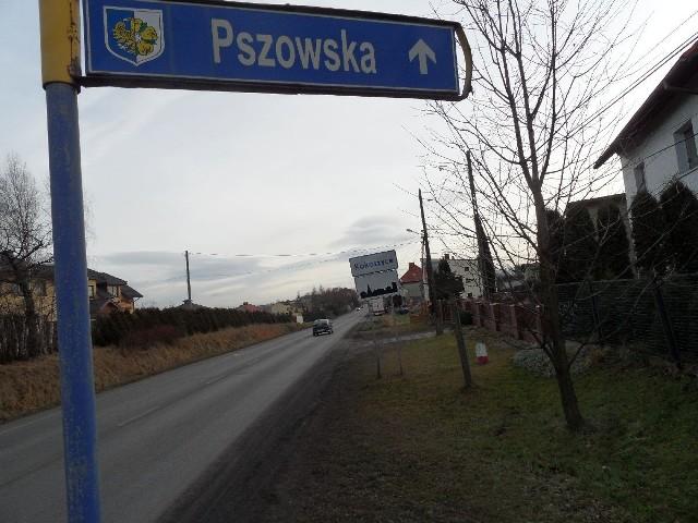 Ulica Pszowska jest najdłuższa w mieście. Ma ponad 5 kilometrów