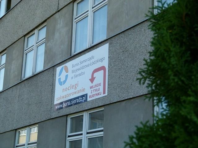 Urząd Marszałkowski sam zagospodarował budynek przy ul. 3 Maja w Sieradzu. Jest tu już bursa