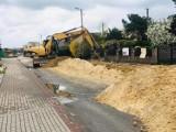 Pleszew. Jak długo potrwają prace na ulicy Poniatowskiego?