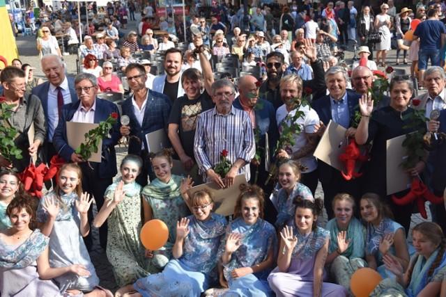 Zbigniew Woźniak odebrał Grand Prix Satyrykonu.