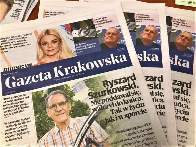 W 2020 roku Gazetę Krakowską cytowano 1233 razy